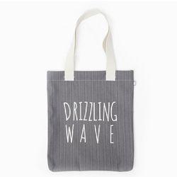 DRIZZLING WAVE ECO BAG-GREYSTRIPE