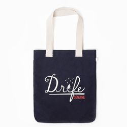 DRIFE LOGO ECO BAG-NAVY