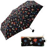Chenille flower mini 593-187 (BK) 5단우산