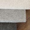 헤링본 사각러그 - 0.5평 (100 x150)