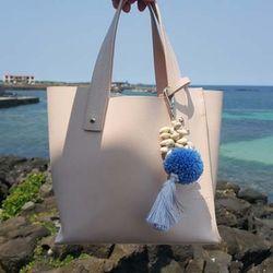 Badat Bag Charm Blue