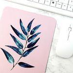 식물 일러스트 마우스패드 + 미니 포스터 2종 세트 15