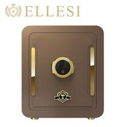 엘르시 ELS-450F 다크브라운 프리미엄 지문인식 금고