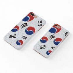 Korean Flag 태극기 유광 핸드폰케이스