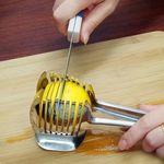 레몬 감자 토마토 슬라이스 텅 집게 채썰기(알루미늄)