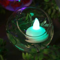 LED 티라이트 1개입 (물에뜨는 촛불) - 칼라