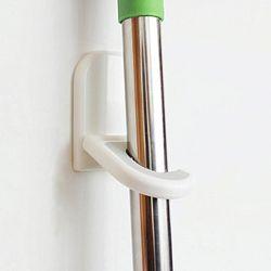 거실 욕실 청소도구 우산보관 홀더 청소밀대 걸이