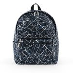Bubilian Painting Backpack [ black ]