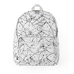 Bubilian Painting Backpack [ white ]