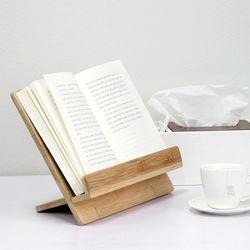 자연을 담은 친환경 우드 독서대 BAMBOO BOOK STAND