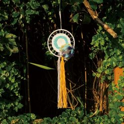 Knitted Dream Catcher Blue