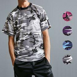 로스코 BDU 카모 티셔츠 4컬러