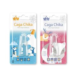 [카가] 카가치카 실리콘 손가락 핑거칫솔 - 색상선택