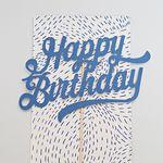 생일 축하해요 (블루)