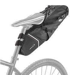 백로더 완전방수 자전거 촐퇴근 안장가방 6리터