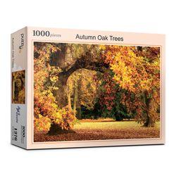 1000pcs 오크나무의 화려한 가을 단풍 (PL1376)