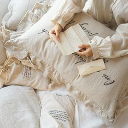 앤 셜리 프릴커버: Anne shirley frill cover