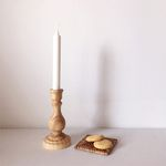 natural wood candle holder (우드촛대 나무촛대)