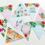 북유럽 캔버스 보테니컬 가랜드 Floral