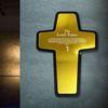 [벽걸이용모던십자가]Gold Mirror Cross