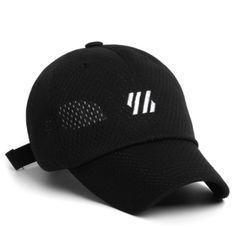 YH MESH CAP BLACK