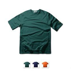 [쿨룩] 남성 사이드 트임 라운드 반팔 티셔츠 MZST73