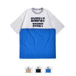 [쿨룩] 남성 라운드 컬러 반팔 티셔츠 NSRT24