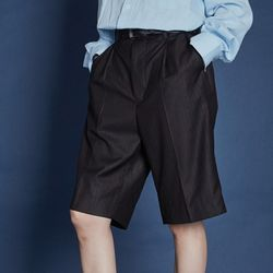 minimal pintuck shorts (3 color) - UNISEX