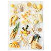 패브릭 포스터 F061 행잉 Eat yellow color [중형]