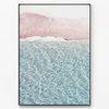 메탈 풍경 사진 인테리어 액자 파도 바다 [대형]