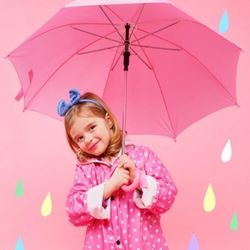 매직커버 아동우산(무늬)