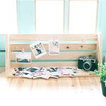 210. 메모리얼 사진선반 - 삼나무 원목 진열 벽장식