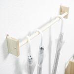 240. 우산걸이 - 삼나무 원목 진열 벽장식