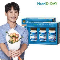 건강선물세트 (칼슘앤비타민D 3병)+쇼핑백