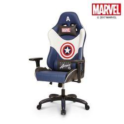 마블 프리미엄 레이싱 게이밍 의자 : 캡틴 아메리카