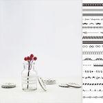 Black&White 마스킹 테이프 17종
