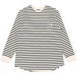 UNISEX Bro Stripe T-shirts (BLACK)
