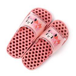 미니마우스 아동 안전욕실화(핑크)