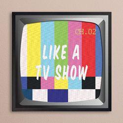 LP 메탈 액자 - Like a Tvshow