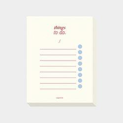 things to do ( cream )