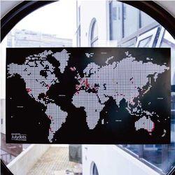 줄라이닷츠 세계지도 [L] - Julydots Worldmap [L]