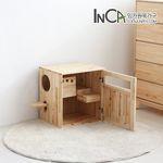 네코 삼나무 원목 고양이 화장실  사막화방지