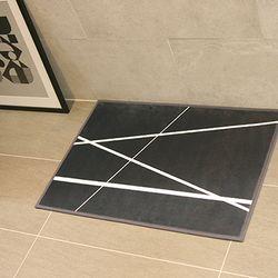 프리미엄 초극세사 매트 - 오빌리크네이비(70x50cm)