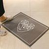 프리미엄 초극세사 매트 - 러브올차콜(70x50cm)