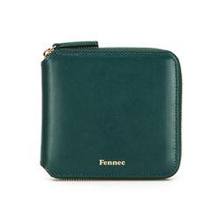 [태슬증정] Fennec Zipper Wallet 028 Moss Green