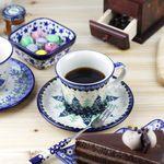 폴란드그릇 커피잔&소서 2p (20 type)