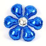 은박 꽃풍선 50cm 블루