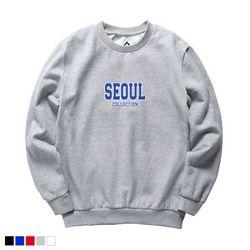 뉴해빗 - seoul collection - 7NMH-68 - 나염맨투맨