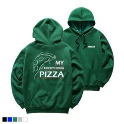 [7SH-7067] 뉴해빗 - my pizza - 후드티