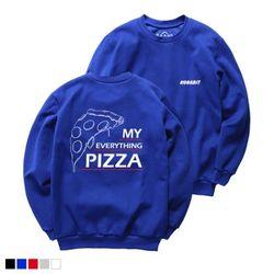 뉴해빗 - my pizza - 7NMH-67 - 나염맨투맨